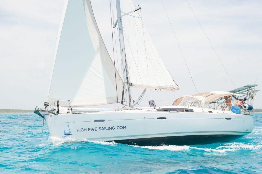 High Five zeilboot huren Nieuwpoort België