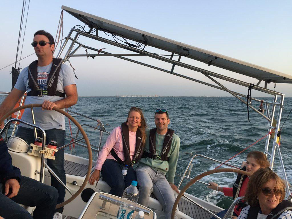 Chartern mit Skipper zeilboot huren Nieuwpoort België