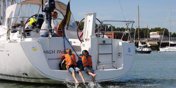Zeilboot huren familie