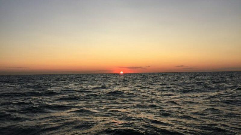 Sunset cruise nieuwpoort