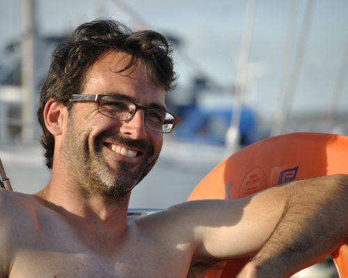 Zeilboot charteren Nieuwpoort met schipper Koen Simkens